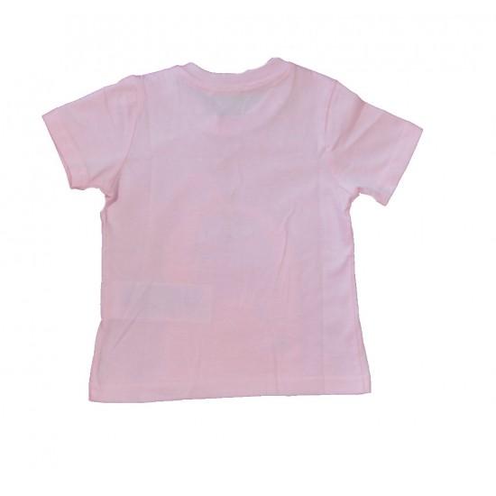 Βρεφική Κοντομάνικη Μπλούζα Ροζ Chicco 6958R Κορίτσι