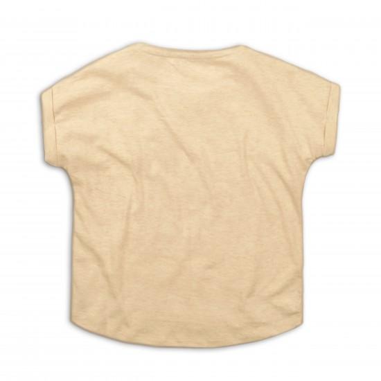 Κοντομάνικη Μπλούζα Μπεζ Minoti 2KTee18 Κορίτσι