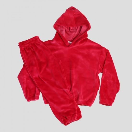 Σετ Φόρμας Μακρυμάνικη Μπλούζα & Φόρμα Φούξια 133621 Nek Κορίτσι