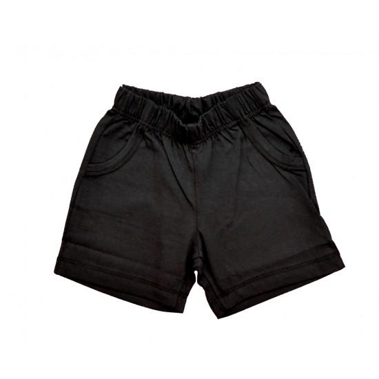 Σετ Κοντομάνικη Μπλούζα & Σορτς Λιλά &Μαύρο Nek 41221 Αγόρι