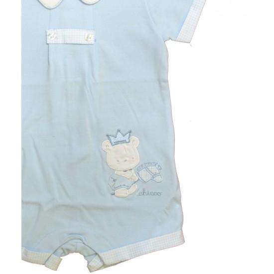 Βρεφικό Κοντομάνικο Φορμάκι Γαλάζιο Chicco 50824