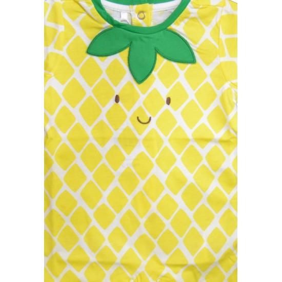 Βρεφικό Κοντομάνικο Φορμάκι Κίτρινο& Πράσινο Chicco 51303
