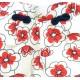 Βρεφικό Σορτς Άσπρο& Κόκκινο Chicco 52928 Κορίτσι