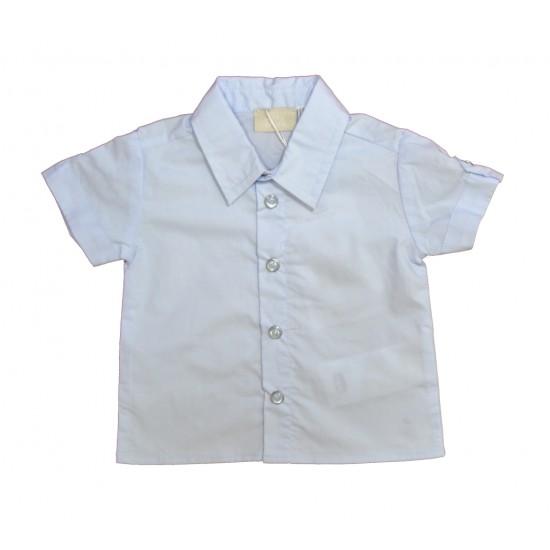 Βρεφικό Σετ Πουκάμισο & Βερμούδα  Γαλάζιο& Μπεζ Chicco 76852 Αγόρι
