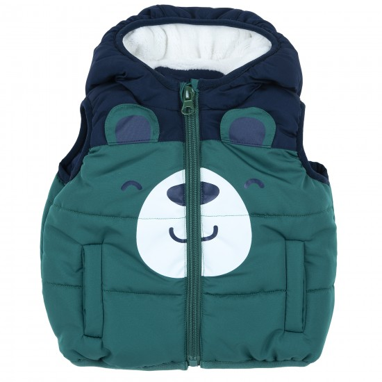 Αμάνικο Μπουφάν Μπλε & Πράσινο Chicco 87634 Αγόρι